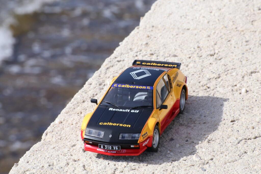 Renault Alpine A310 évocation Calberson 1:18ème Solido