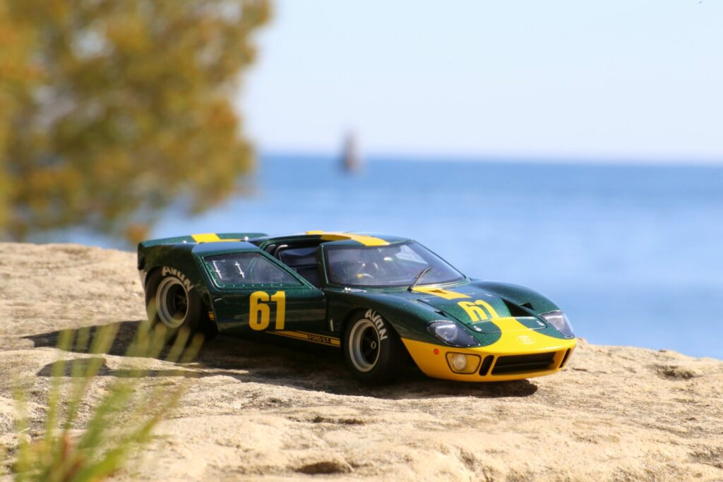 Ford gt40 1:18ème Solido Jim Click ford performance collection