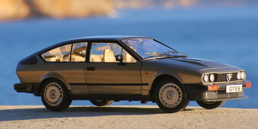 Un nouveau coloris Silver pour l'Alfa Roméo GTV6 chez Solido – Présentation de cette diva italienne au 1:18ème