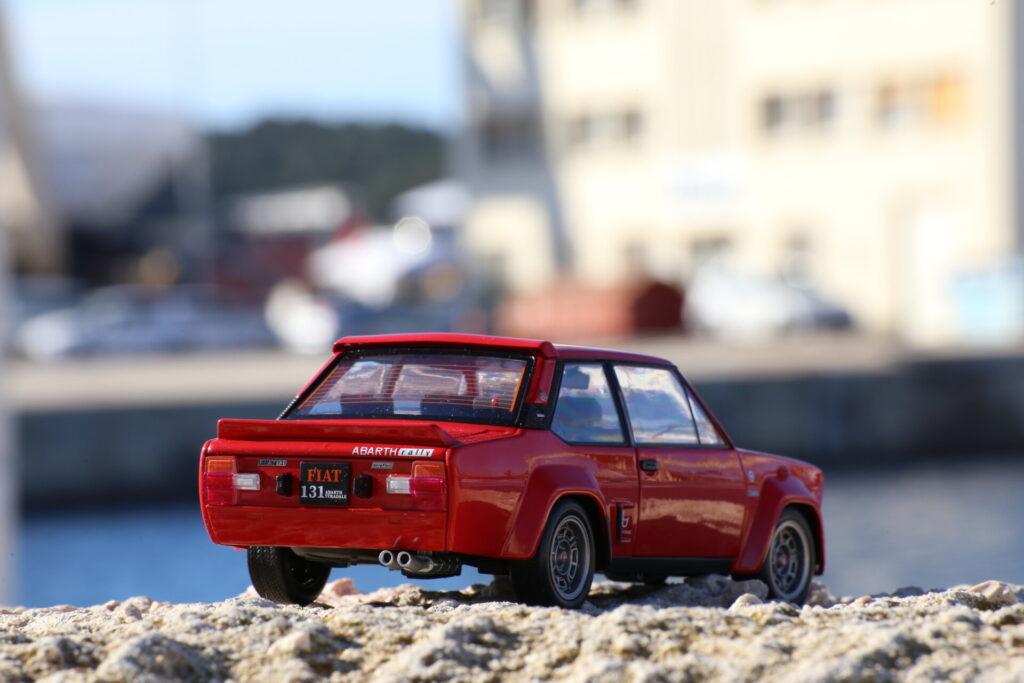 Fiat 131 Abarth rallye 1:18ème solido