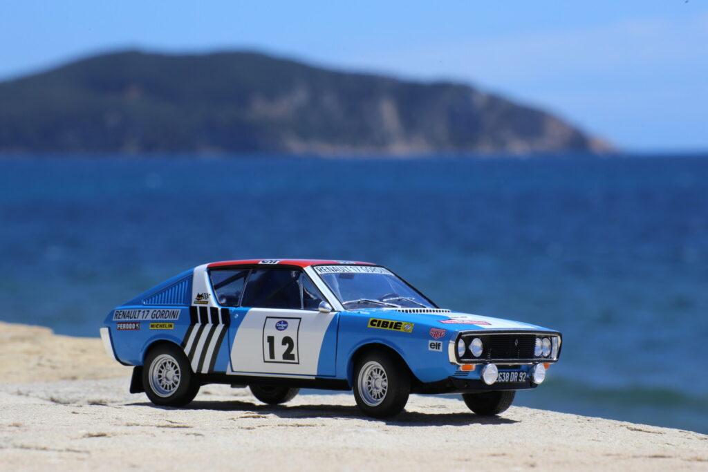 Renault 17 gordini press on regardless 1:18ème solido