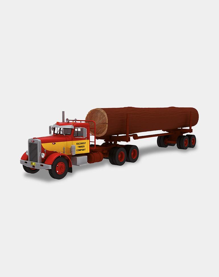 collection american truck - camion américain 1:43ème altaya