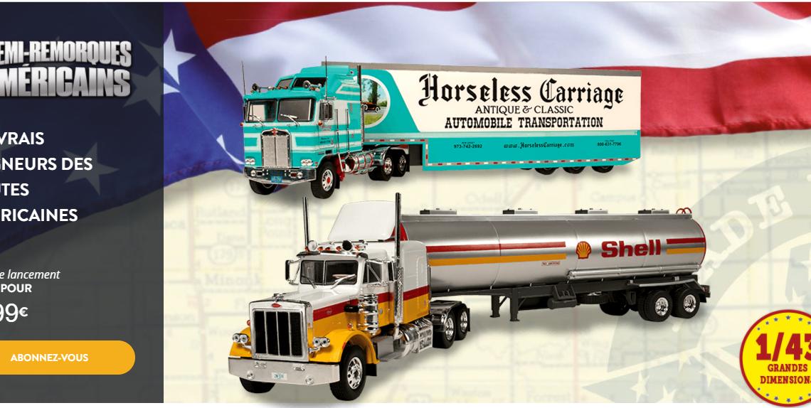Collection camion américains altaya 1:43