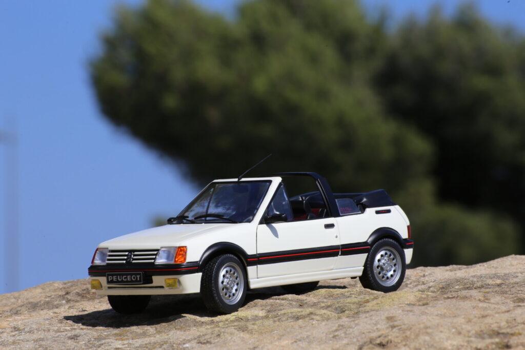 Peugeot 205 cti solido 1:18ème